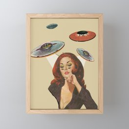 Alien Framed Mini Art Print