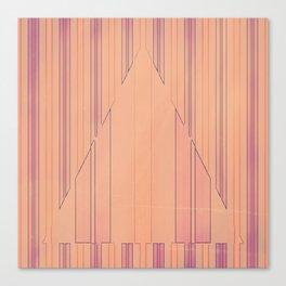 Strip to Stripe Me Down Canvas Print