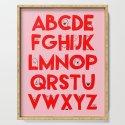 Alphabet Faces by houseofwonderland