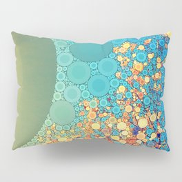 Sky and Leaves Pillow Sham