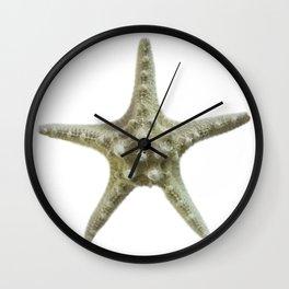 Knobby Starfish Wall Clock