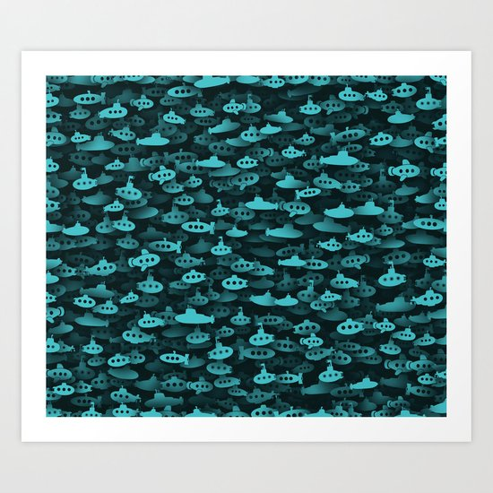 submarines Art Print
