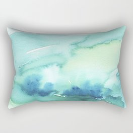 Abstract Landscape Rectangular Pillow