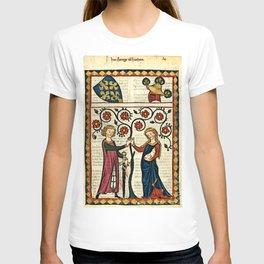 Codex Manesse: Bernger von Horheim T-shirt