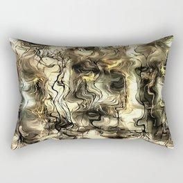 Nervous Tension Rectangular Pillow