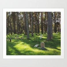 Skogskyrkogården Art Print