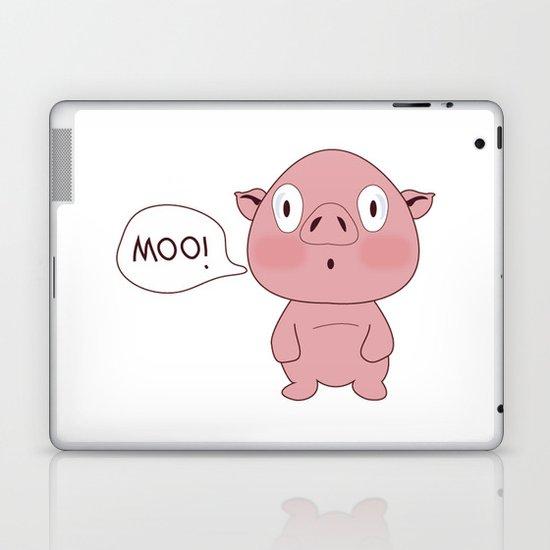 SOLD!! Confused Pig Laptop & iPad Skin