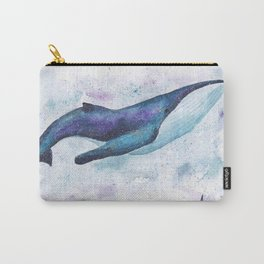 Big space whale illustration Carry-All Pouch