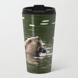 Beaver Munching Travel Mug
