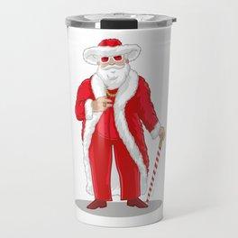 Big Pimpin' Santa Travel Mug
