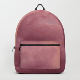 Pink Sky - Clouds Backpack