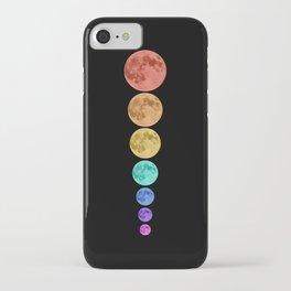 MOON GLOW RAINBOW iPhone Case