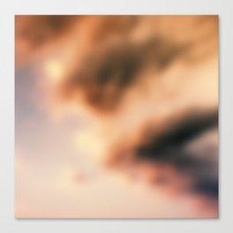 Dream Clouds unfocused Canvas Print
