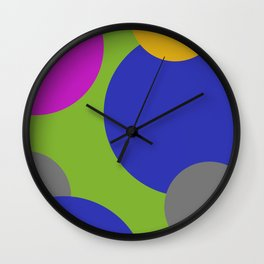 Stylish Bubbles Wall Clock