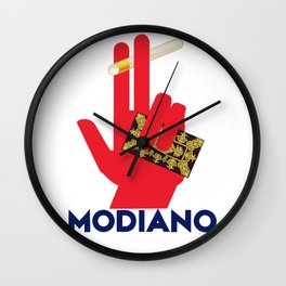 MODIANO rolling papers Wall Clock