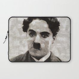 Charlie Chaplin, Compedy Legend Laptop Sleeve