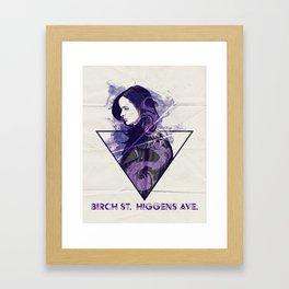 Birch St. Higgins Ave. Framed Art Print