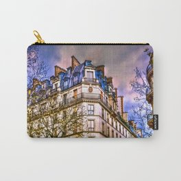 Rainy evening in Paris, France Carry-All Pouch