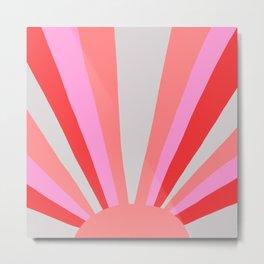 sunshine state, coral Metal Print