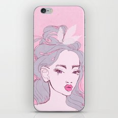selfie girl_9 iPhone Skin