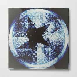 Black Star Metal Print