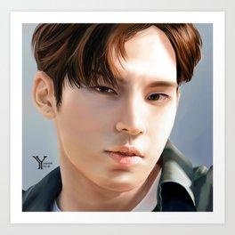 Mngyu Seventeen Art Print