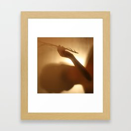 'Untitled 5' - Body language series. Framed Art Print