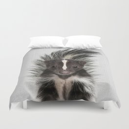 Skunk - Colorful Duvet Cover