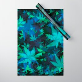 Candys Crazy Cannabis Camo 3 Wrapping Paper