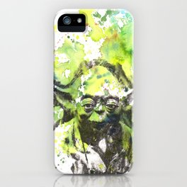 May the Force be with You Yoda Star Wars iPhone Case