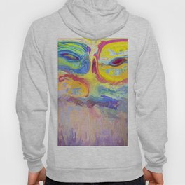 485 - Abstract colour design Hoody