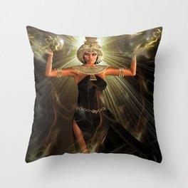 The Light Of Egypt Throw Pillow