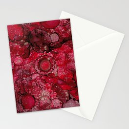 Red & Gold Stationery Cards
