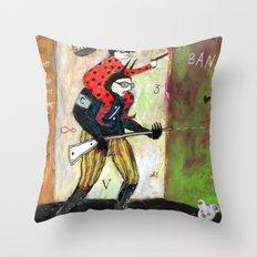 Attakantz Throw Pillow