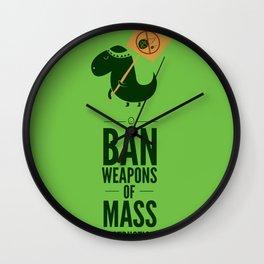 Occupy Jurassic Park Wall Clock