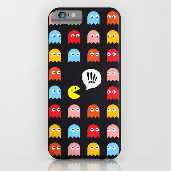 Pac-Man Trapped iPhone & iPod Case