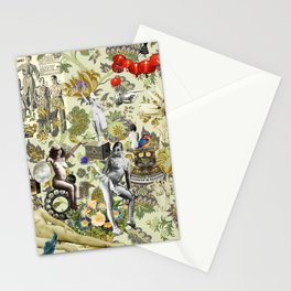 The Muse is Here Stationery Cards
