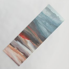 Serenity [2]: an acrylic piece in both warm and cool colors by Alyssa Hamilton Art Yoga Mat
