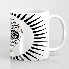Sugar Skull SF - white Coffee Mug