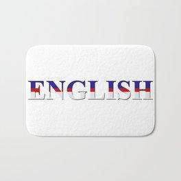 English word Bath Mat