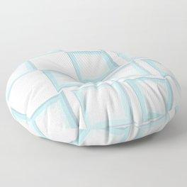 Spiral Squares Floor Pillow