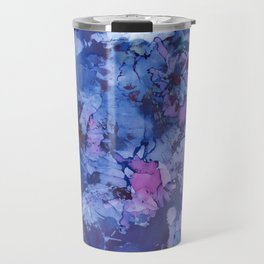 Abstract Alcohol Ink Painting 3 Travel Mug