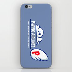 P-Wing Airlines iPhone & iPod Skin