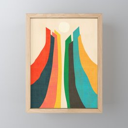 Skyscraper Framed Mini Art Print