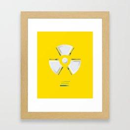 Polluted - Dinner Time Framed Art Print