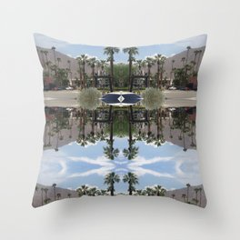Welcome to The Ace Throw Pillow