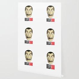 Dalí Mask La Casa de Papel Bella Ciao Wallpaper