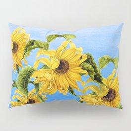 Where the Sunflowers Grow Pillow Sham