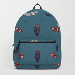 Toon vampire pattern Backpack