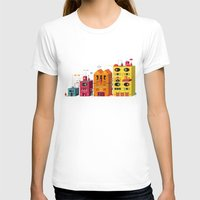 buildings T-shirts featuring Buildings by Luis Pinto